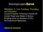 worship learn serve15