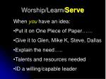 worship learn serve4