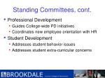 standing committees cont11