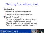 standing committees cont12