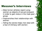 messner s interviews