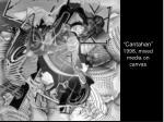 cantahan 1998 mixed media on canvas