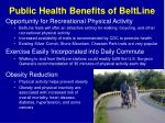 public health benefits of beltline