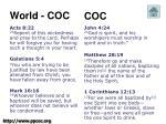 world coc