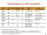 combinations of dfo and dfp