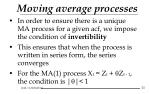 moving average processes25