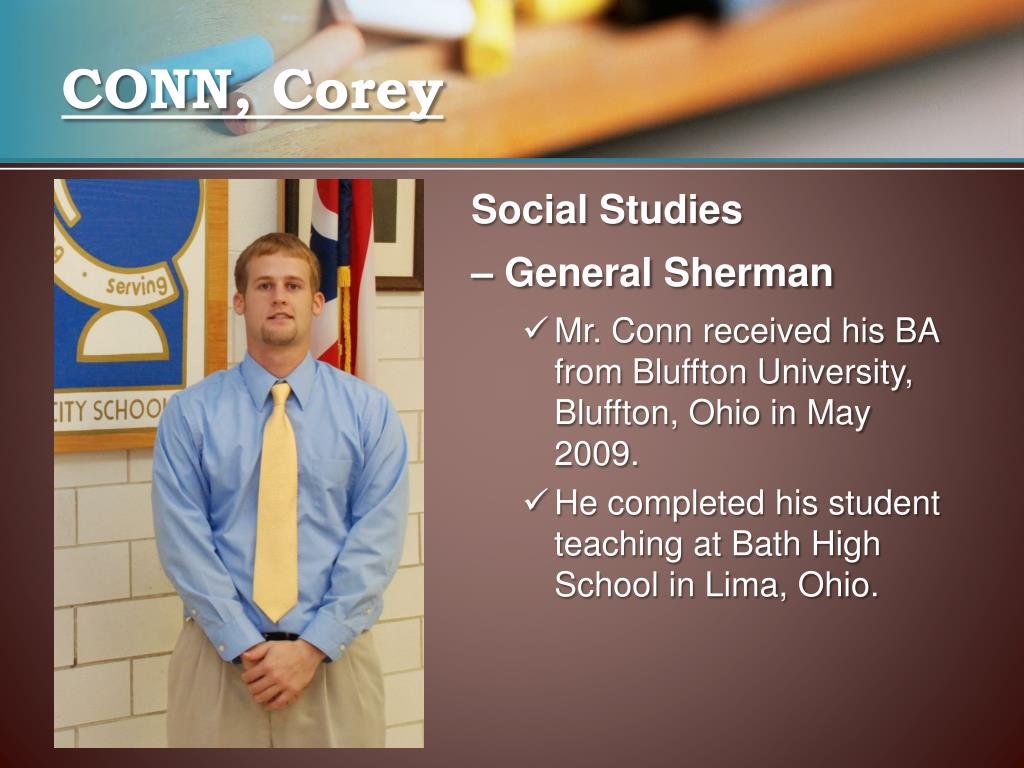 CONN, Corey