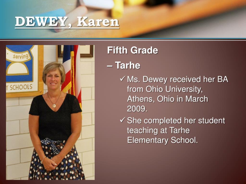 DEWEY, Karen
