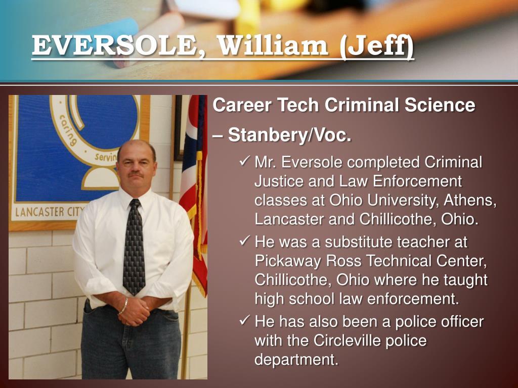 EVERSOLE, William (Jeff)