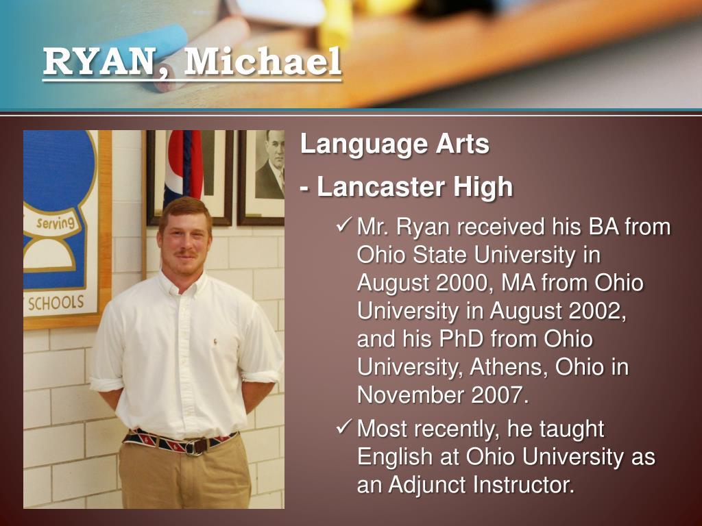 RYAN, Michael