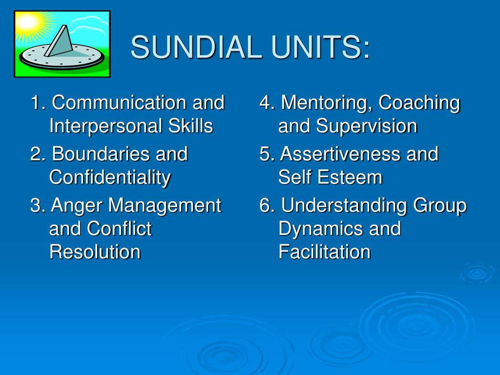 1. Communication and Interpersonal Skills