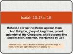 isaiah 13 17a 19