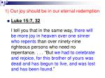 1 our joy should be in our eternal redemption18