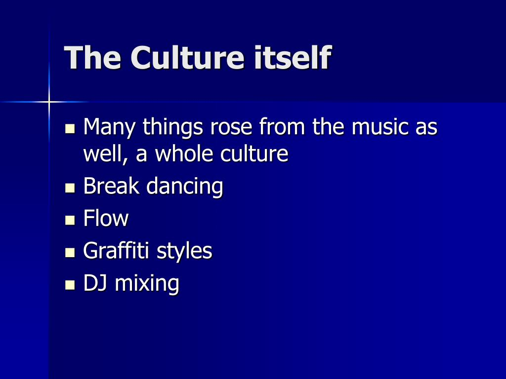 The Culture itself