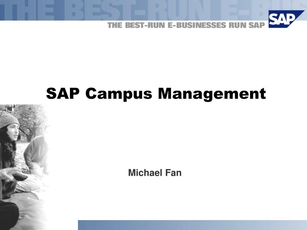 sap campus management l.