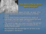 how did confucius know about shangdi
