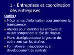 1 entreprises et coordination des entreprises20