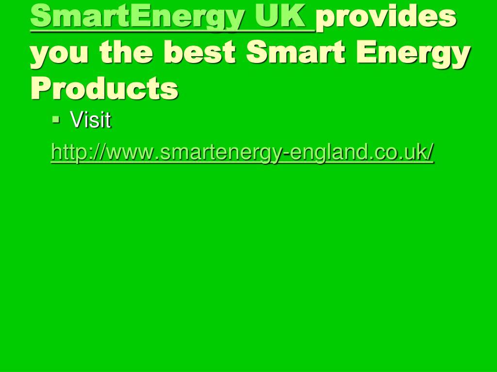 SmartEnergy UK