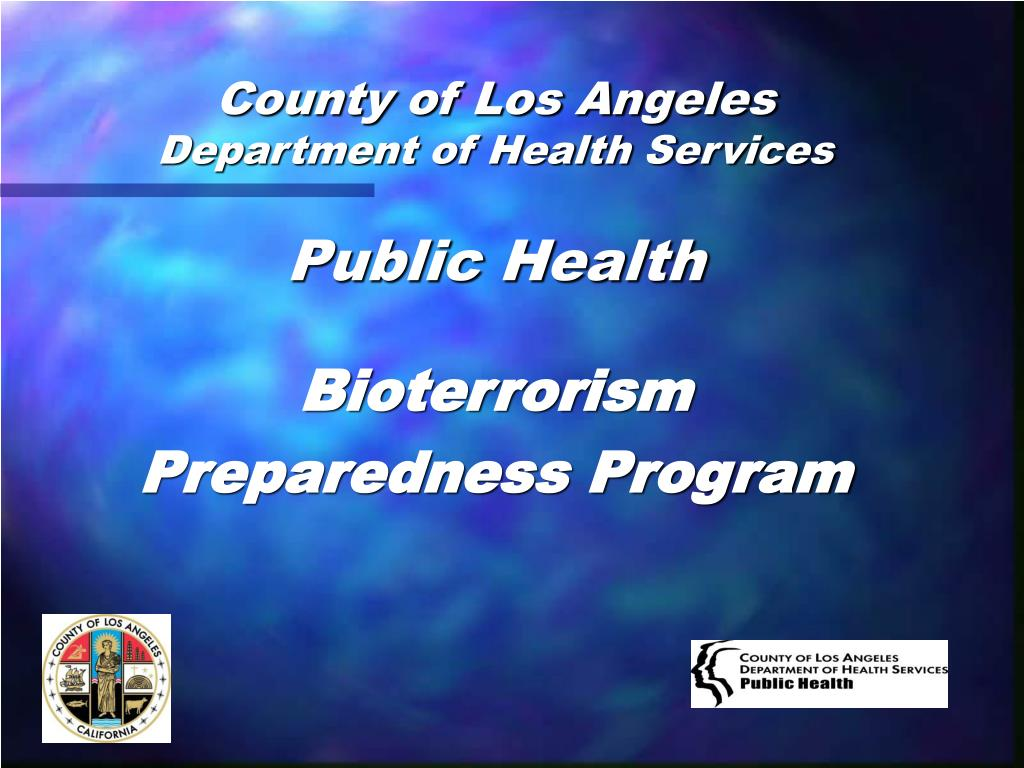 county of los angeles department of health services l.