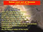 satan cast out of heaven isaiah 14 12 15 nkjv