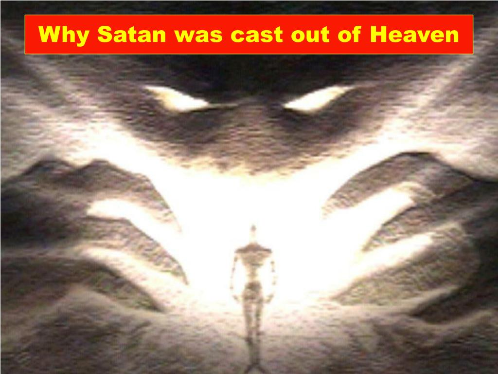 why satan was cast out of heaven l.
