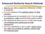enhanced similarity search methods