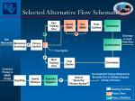 selected alternative flow schematic