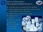 selected alternative moving bed biofilm reactors