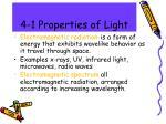 4 1 properties of light
