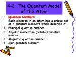 4 2 the quantum model of the atom