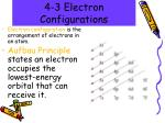 4 3 electron configurations
