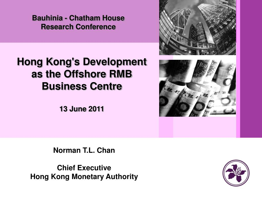 bauhinia chatham house r esearch c onference l.