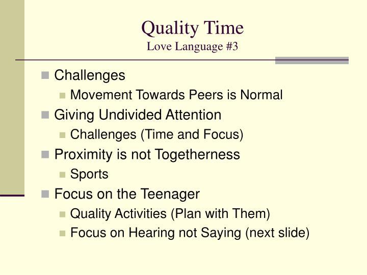 Quality Timelove Language 3