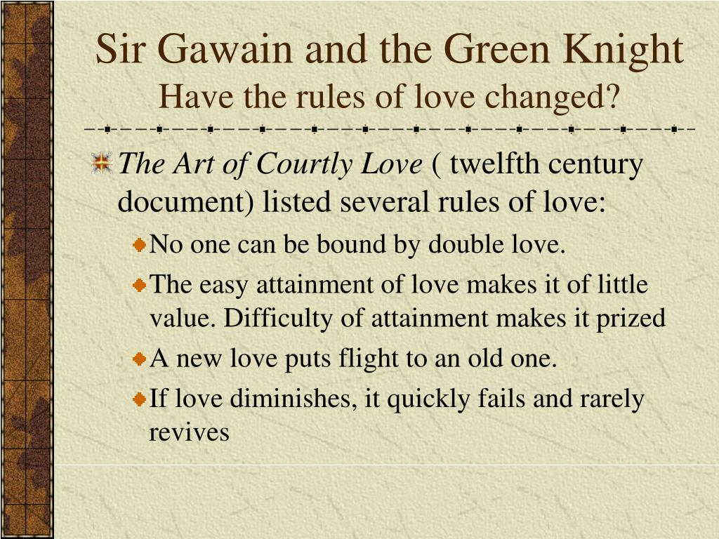 sir gawain and the green knight christian elements
