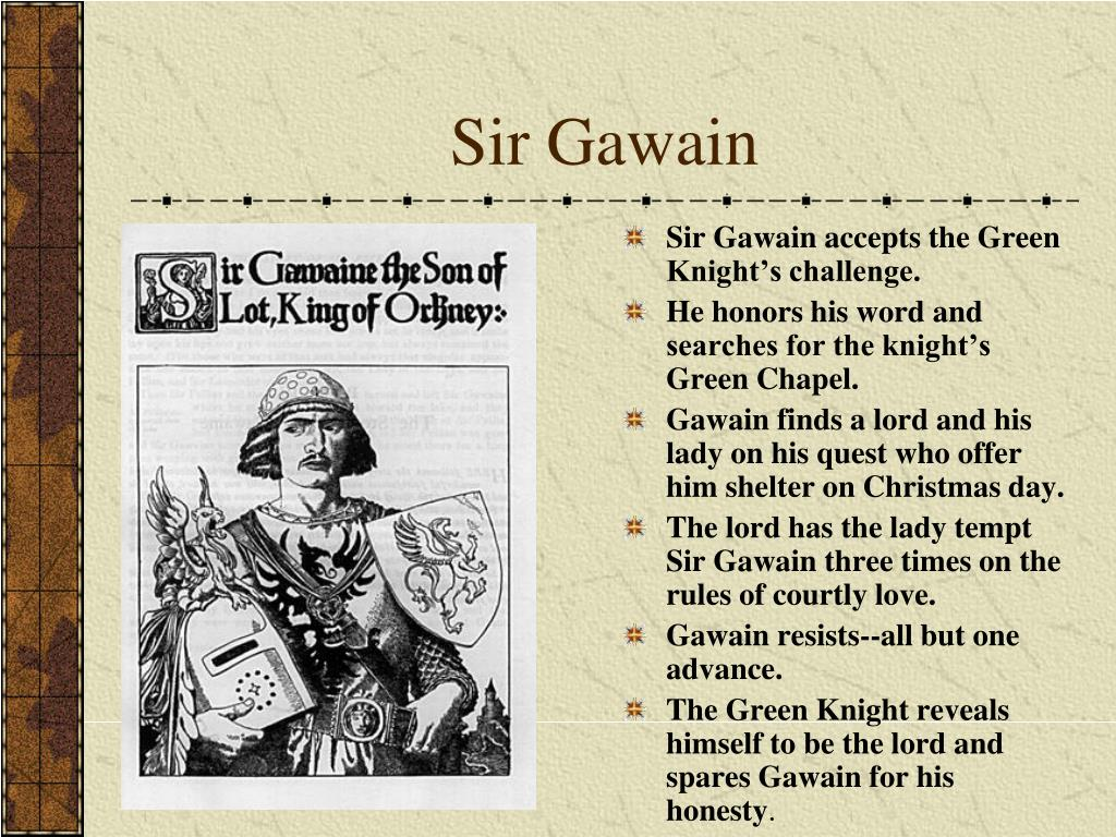 the concept of courtly love in sir gawain and the green knight