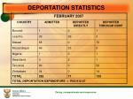 deportation statistics