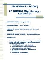 ansi ans 3 11 2000 8 th numug mtg survey responses