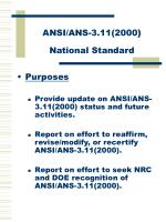 ansi ans 3 11 2000 national standard