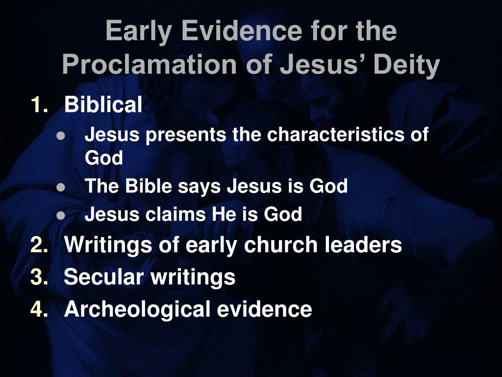 Early Evidence for the Proclamation of Jesus' Deity