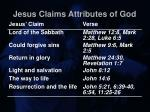 jesus claims attributes of god24