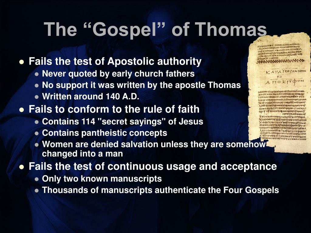 "The ""Gospel"" of Thomas"