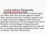 loving without reciprocity