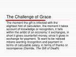 the challenge of grace