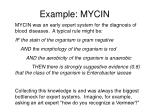 example mycin