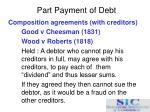 part payment of debt11