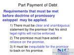 part payment of debt15