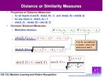 distance or similarity measures25