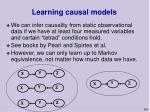 learning causal models60
