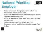 national priorities employer