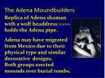 the adena moundbuilders11